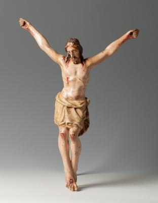 Cristo; España, siglo XVII. Madera policromada