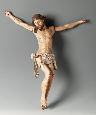 Cristo crucificado; finales del siglos XVII- principios XVIII.