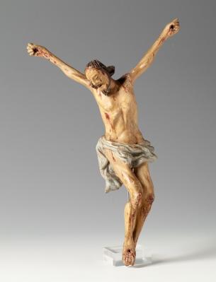 Cristo crucificado del siglo XVII-XVIII.