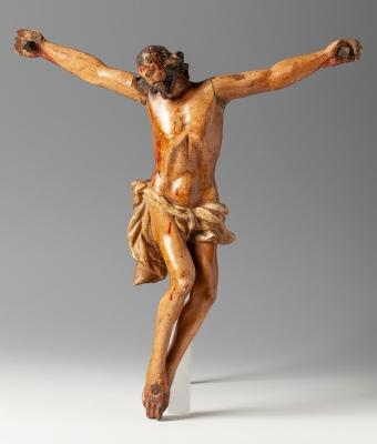 Cristo crucificado; finales del siglo XVII- principios...