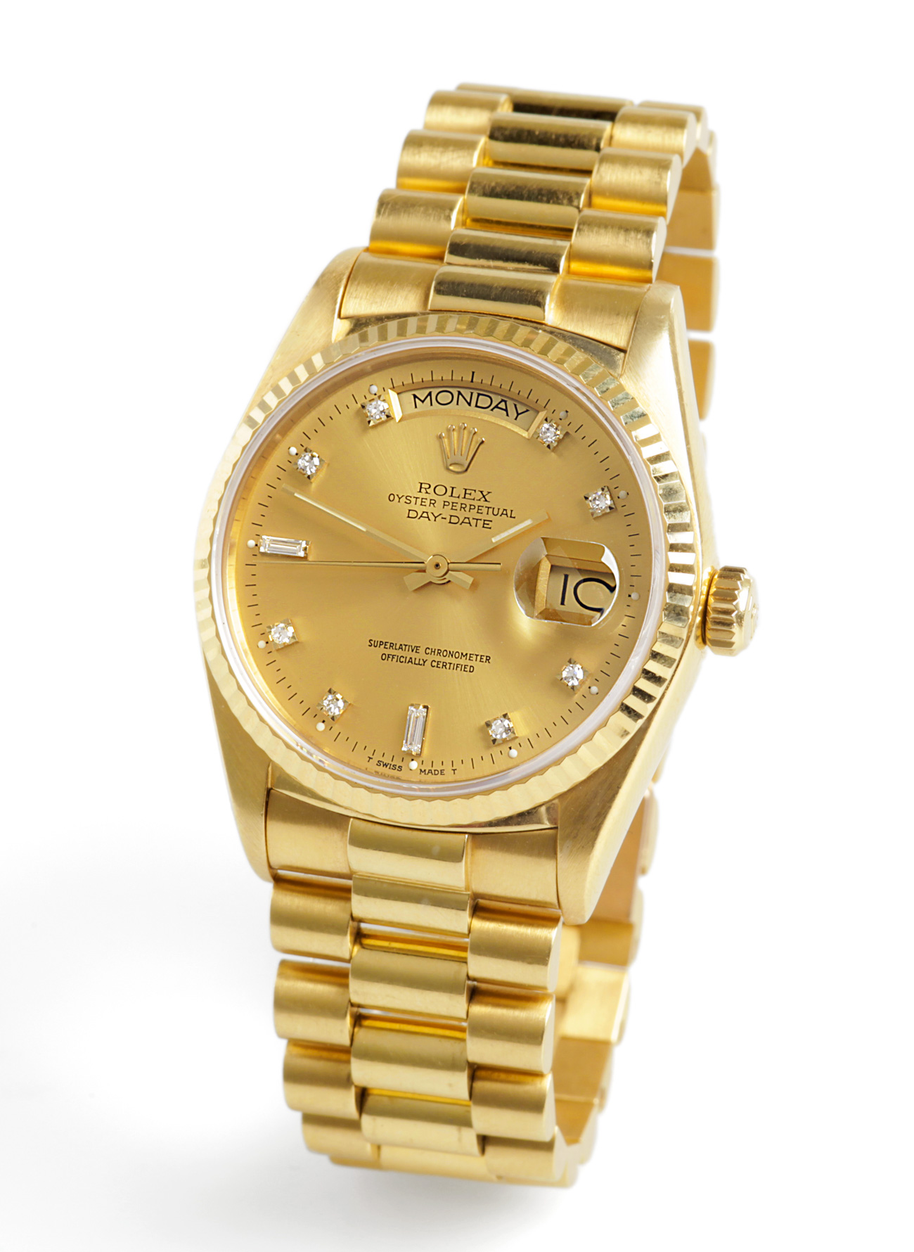 reloj rolex oyster perpetual datejust superlative chronometer officially certified