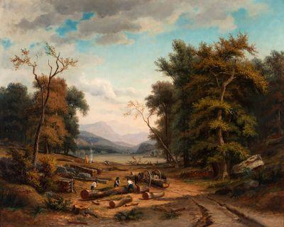 JEAN DANIEL HUBER (Geneva, Switzerland, 1754-1845).