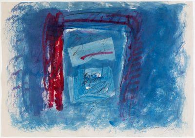 ALBERT RÀFOLS CASAMADA (Barcelona, 1923 - 2009).Untitled, 1987.