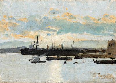 SANTIAGO RUSIÑOL I PRATS (Barcelona, 1861 – Aranjuez, Madrid, 1931).