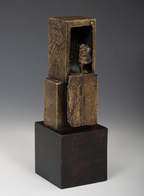 """ANTONI CLAVÉ I SANMARTÍ. """"Le guettur"""", 1962."""