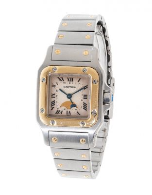 CARTIER Galbée Santos watch, ref. 119902, for lady.