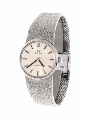 Reloj OMEGA Genève. En plata.