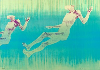 LEONARDO CREMONINI (Bologna, 1925 - Paris, 2010).Untitled, 1992.