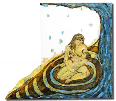 RAQUEL MORON (Sabadell, 1975).Maternitat d'Elna.