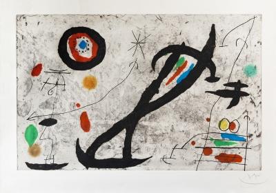 """""""Traceé sur la paroi V"""". Joan Miró i Ferrà"""