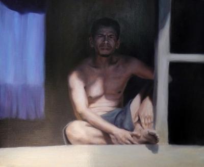 """""""Hombre indonesio"""",2012. RODÉS, Alexandra"""