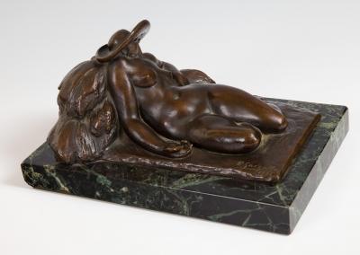 """""""Durmiente"""", 1924. Pablo Gargallo Catalán"""