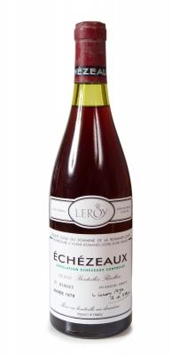 Botella de Échézeaux Domaine de la Romanée-Conti 1979.