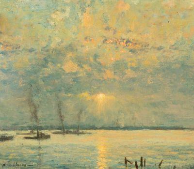 RAOUL ANDRÉ ULMANN (París, 1867-1932).