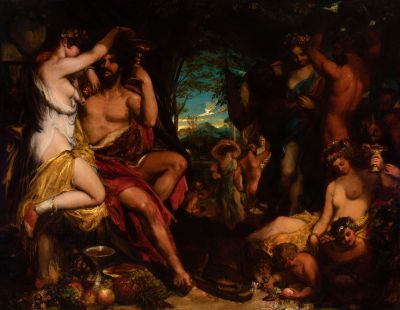 """Bacanal"".  WILLIAM ETTY"