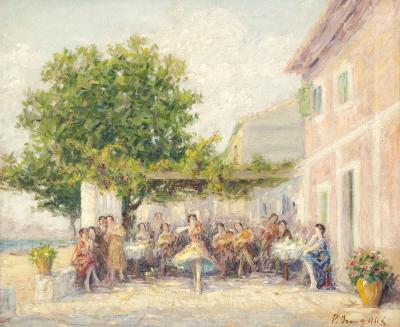 """Fiesta flamenca"". YSERN ALIÉ, Pere"