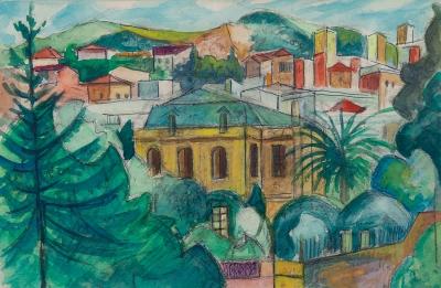 """Vallcarca"", 1967 JOAN SANDALINAS FORNAS"