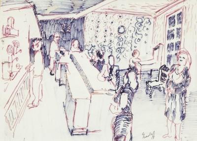 """""""Bar"""", 1978. NADAL FARRERAS, Carles"""