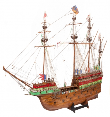 Maqueta de barco, finales del siglo XIX – principios del XX.