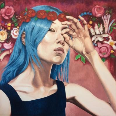 """Blue"",2018. Cristina Cañamero"