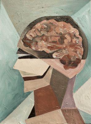 """CRISTINA AUGE BRAU (Barcelona, 1994). """"Cerebro""""."""
