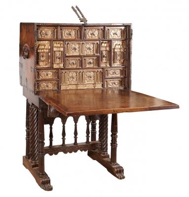 Bargueño salmantino de la segunda mitad del siglo XVII.
