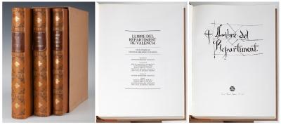 ELS FURS DE VALÈNCIA. Facsímil Vicente García Editores.