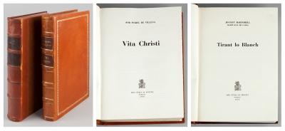"""Vita Christi"" y ""Tirant lo Blanch""."