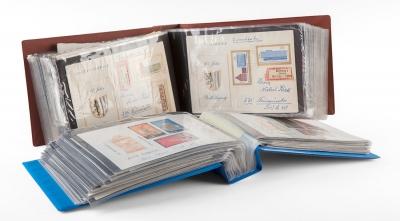 Colección de cartas; Alemania, años 50-80. En dos álb