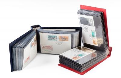 Colección de cartas; Alemania, años 60-70. En dos álb