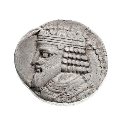 Tetradracma de Fraates IV de Partia, 37-2 a. C