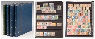 Colección de sellos del mundo. 4 vols