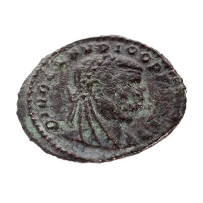 Quinario de Claudio II el Gótico, 260-270. Bronce