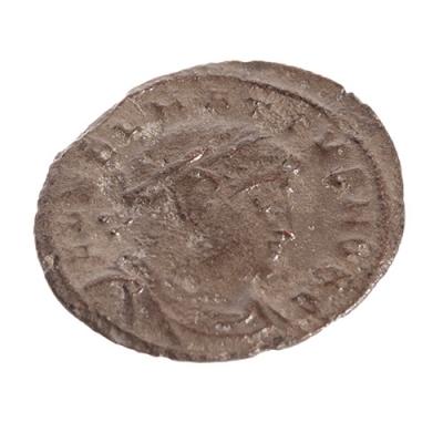Centenional de Delmacio, 335-337. Cobre/bronce