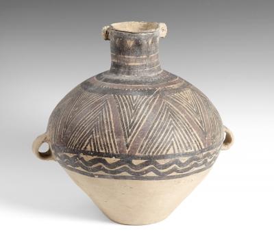 Vasija de la cultura Yangshao; China, periodo Neolítico