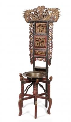 Mueble lavabo; China, provincia de Shanxi, siglo XIX.