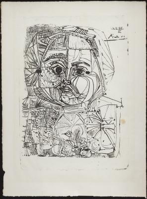 Ejemplar 508/1000. Pablo Picasso .