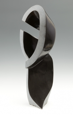 """The curve"". Escuela zimbabuense contemporánea."
