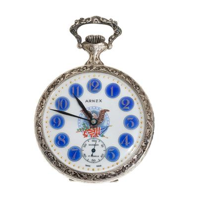 Reloj de bolsillo ARNEX TIME Co, ref. 7376.En metal.