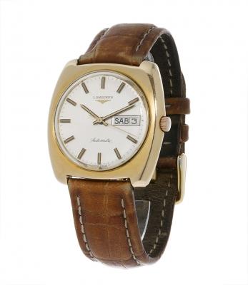 Reloj LONGINES Automatic, cadette, años 70En acero chapado.