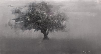 """""""Árbol en la niebla"""". FRANCISCO RODRÍGUEZ LOBO"""