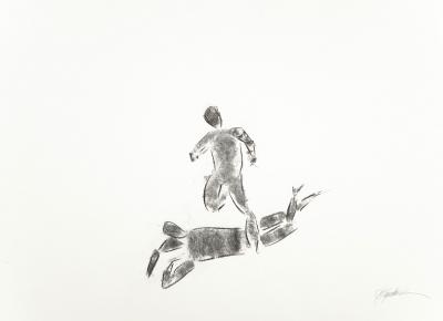 """""""Estudio Cuerpos II"""".2007. PUERTOLAS, Héctor"""