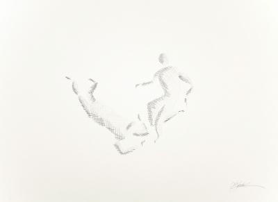 """""""Estudio cuerpos III"""".2007. PUERTOLAS, Héctor"""
