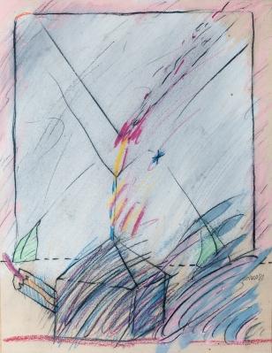 """""""Abstracción"""", 1980. MOREA, José"""