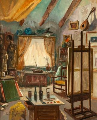 """""""Interior del estudio"""" LLORENS CIFRÉ, Ricardo"""