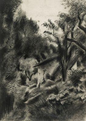 """""""Casa enmig del bosc"""", 1928-34. JOSEP OBIOLS PALAU"""