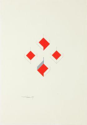 SATORU SATO (Ishinomori, Japón, 1945). Sin título, 1997.