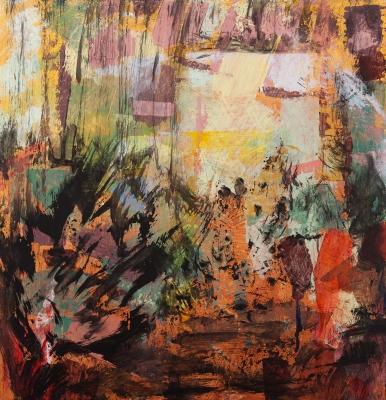 PÉREZ GREGORIO, Carlos . Medidas: 44,5 x 43 cm.