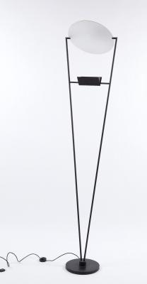 Lámpara de pie de diseño italiano, años 60.