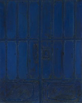 """Puerta azul"". NAVARRO VIVES, José"
